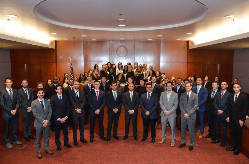 50 First Year Students From Loyola Law School Recently